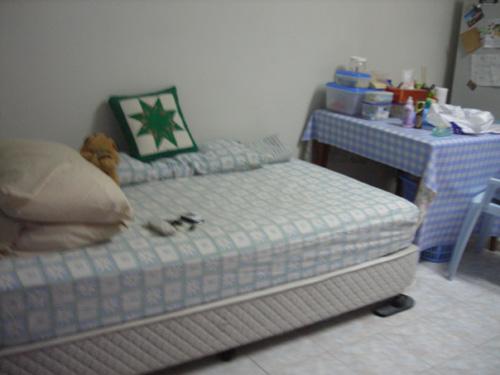 Fresh bedsheets.
