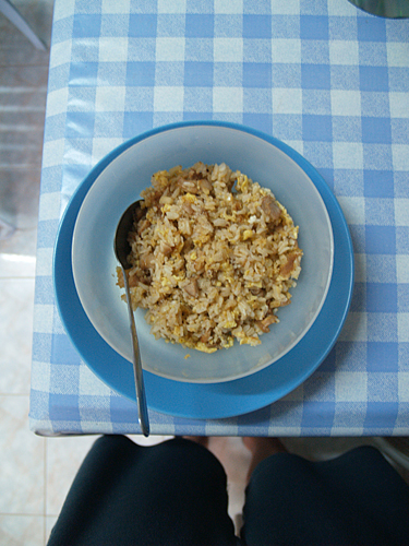 The fried rice after 2nd attempt.